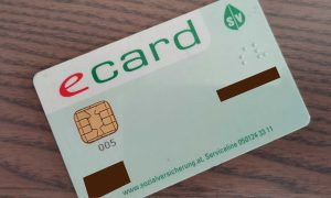 Austrian e-card (without photo)
