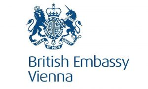 Logo of the British Embassy in Vienna