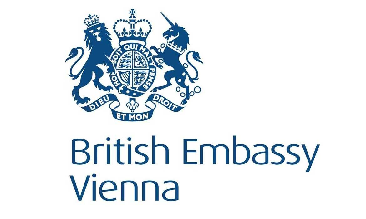 Logo of the British Embassy in Vienna