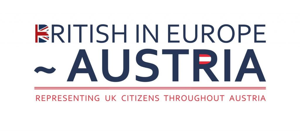 British in Europe ~ Austria Logo